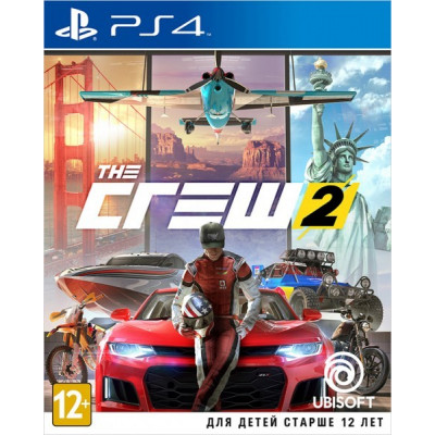 Игра для PlayStation 4 The Crew 2 (русская версия)