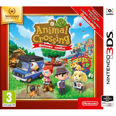 Animal Crossing: New Leaf - Welcome amiibo (Nintendo Selects) [3DS, английская версия]