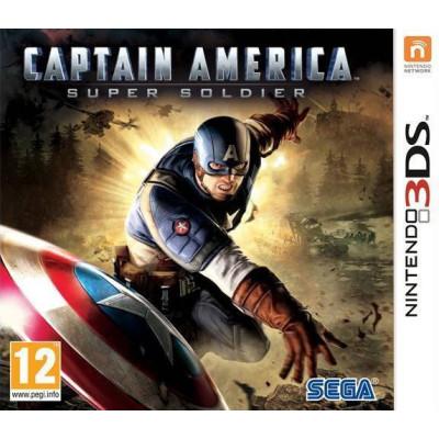 Игра для Nintendo 3DS Captain America: Super Soldier (английская версия)