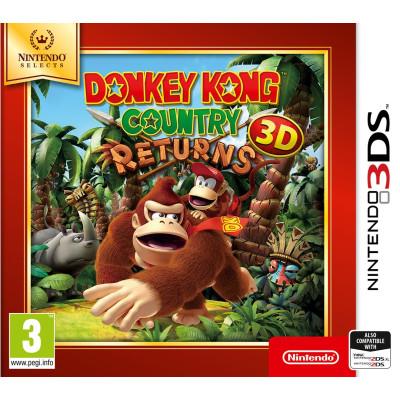 Donkey Kong Country Returns 3D (Nintendo Selects) [3DS, английская версия]