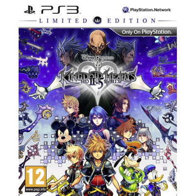 Игра для PlayStation 3 Kingdom Hearts HD 2.5 ReMIX. Limited Edition (английская версия)