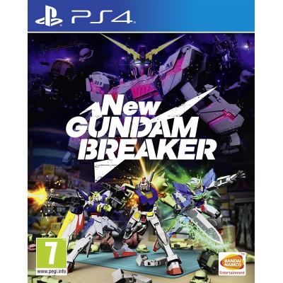 Игра для PlayStation 4 New Gundam Breaker (английская версия)