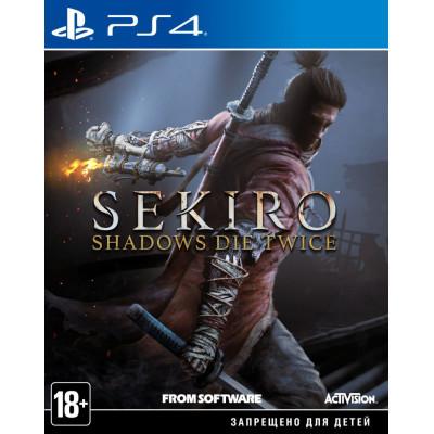 Игра для PlayStation 4 Sekiro: Shadows Die Twice (русские субтитры)