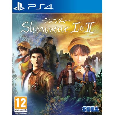 Игра для PlayStation 4 Shenmue I & II (английская версия)