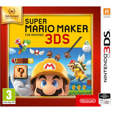 Super Mario Maker 3DS (Nintendo Selects) [3DS, русская версия]