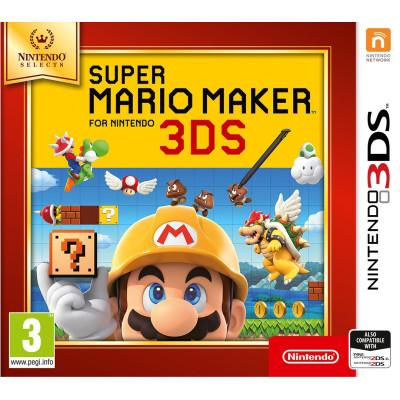 Super Mario Maker 3DS (Nintendo Selects) [3DS, русская версия]