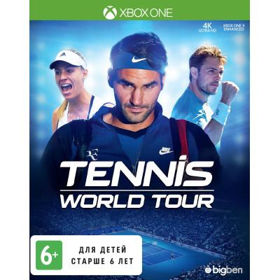 Tennis World Tour [Xbox One, русские субтитры]