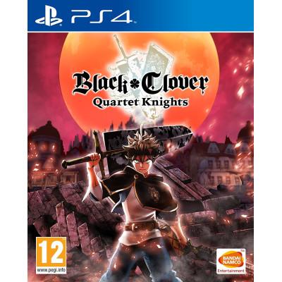 Black Clover: Quartet Knights [PS4, английская версия]