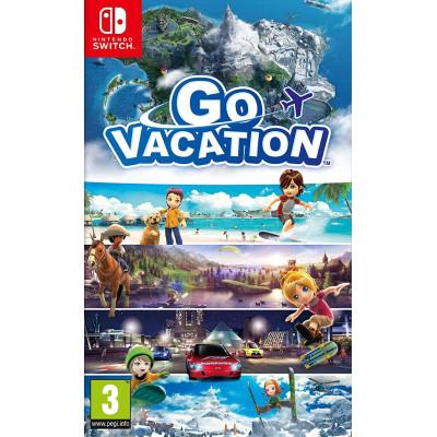 Игра для Nintendo Switch Go Vacation (английская версия)