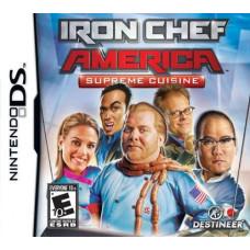 Iron Chef America: Supreme Cuisine [DS, английская версия]