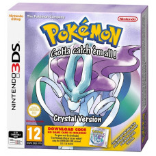 Pokemon Crystal Version (code) [3DS, английская версия]