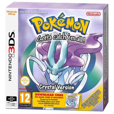 Игра для Nintendo 3DS Pokemon Crystal Version (code) (английская версия)