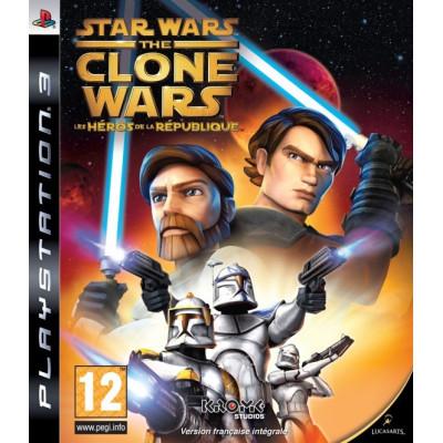 Star Wars the Clone Wars: Republic Heroes [PS3, английская версия]