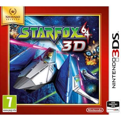 Игра для Nintendo 3DS Starfox 64 3D (Nintendo Selects) (русская документация)