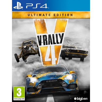 V-Rally 4. Ultimate edition [PS4, русские субтитры]