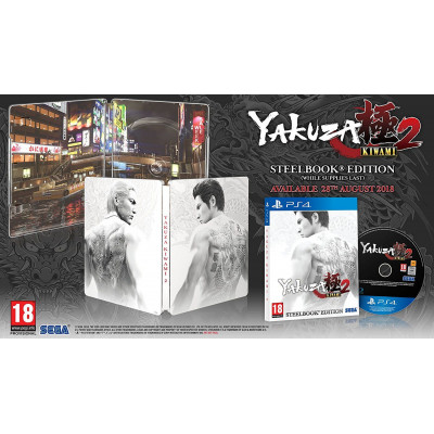 Yakuza Kiwami 2. Steelbook Edition [PS4, английская версия]