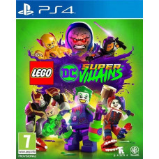 LEGO DC Super-Villains [PS4, русские субтитры]