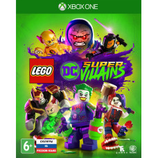 LEGO DC Super-Villains [Xbox One, русские субтитры]