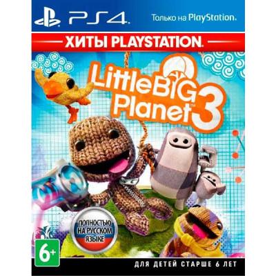 Игра для PlayStation 4 LittleBigPlanet 3 (Хиты PlayStation) (русская версия)