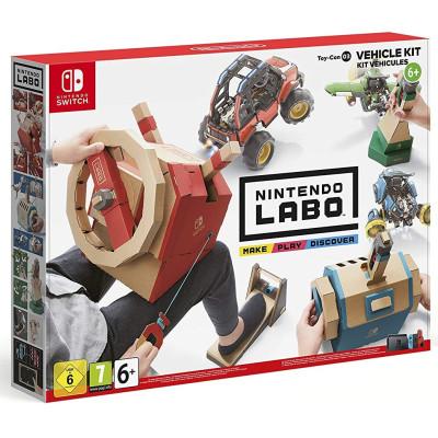 """Игра для Nintendo Switch Комплект Labo """"Транспорт"""" (Toy-Con 03) (английская версия)"""