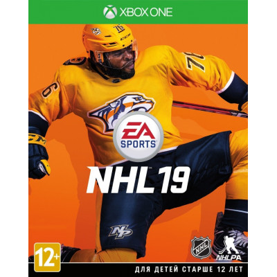 Игра для Xbox One NHL 19 (русские субтитры)