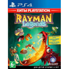 Rayman Legends (Хиты PlayStation) [PS4, русская документация]