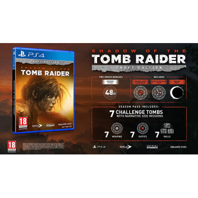 Shadow of the Tomb Raider. Издание Croft [PS4, русская версия]