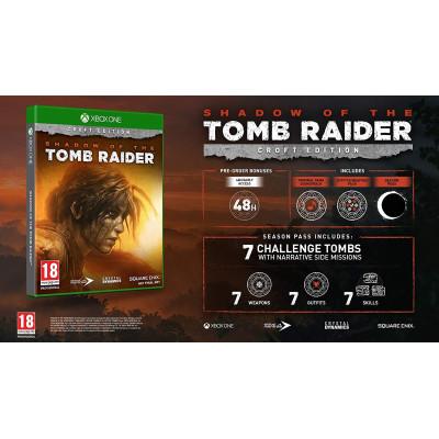 Shadow of the Tomb Raider. Издание Croft [Xbox One, русская версия]