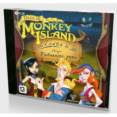 Игра для PC Tales of Monkey Island: Глава 2 - Осада рыбацкого рифа (русская версия)