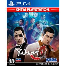 Yakuza 0 (Хиты PlayStation) [PS4, русская документация]