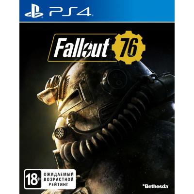 Игра для PlayStation 4 Fallout 76 (русские субтитры)