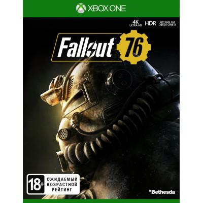 Игра для Xbox One Fallout 76 (русские субтитры)