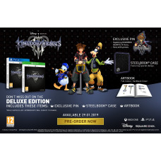 Kingdom Hearts III. Delux Edition [Xbox One, английская версия]