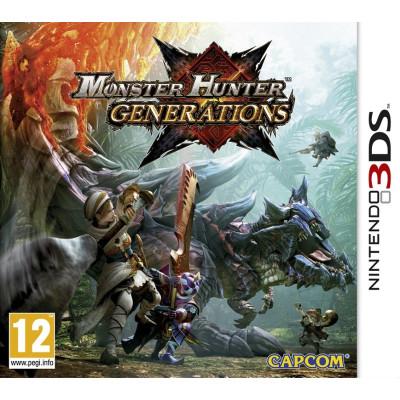 Игра для Nintendo 3DS Monster Hunter Generations (английская версия)