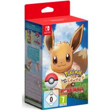 Набор Poké Ball Plus + Pokémon: Let's Go, Eevee! [NS, английская версия]