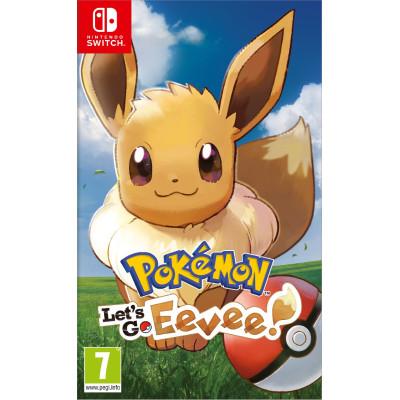Игра для Nintendo Switch Pokémon: Let's Go, Eevee! (английская версия)