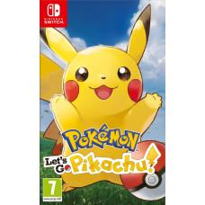 Pokémon: Let's Go, Pikachu! [NS, английская версия]
