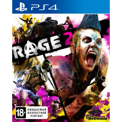 Игра для PlayStation 4 RAGE 2 (русская версия)