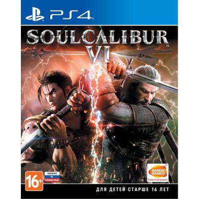 Игра для PlayStation 4 SoulCalibur VI (английская версия)