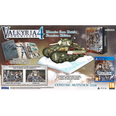 Игра для PlayStation 4 Valkyria Chronicles 4. Collector's Edition (английская версия)