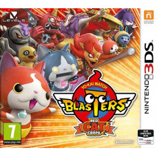 YO-KAI WATCH BLASTERS: Red Cat Corps [3DS, английская версия]