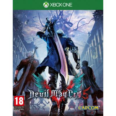 Игра для Xbox One Devil May Cry 5 (русские субтитры)