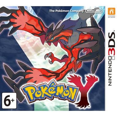 Игра для Nintendo 3DS Pokemon Y (английская версия)
