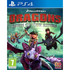 Dragons Dawn of New Riders [PS4, английская версия]