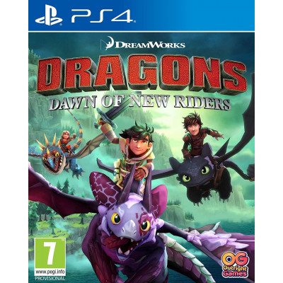 Игра для PlayStation 4 Dragons Dawn of New Riders (английская версия)