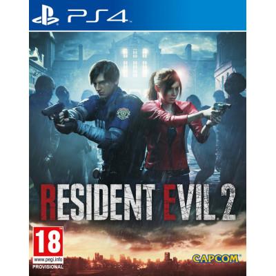 Игра для PlayStation 4 Resident Evil 2 Remake (русские субтитры)