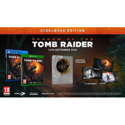 Shadow of the Tomb Raider. Расширенное Издание [PS4, русская версия]