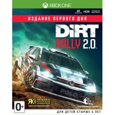 Dirt Rally 2.0. Издание первого дня [Xbox One, английская версия]