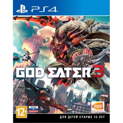 Игра для PlayStation 4 God Eater 3 (русские субтитры)