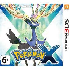 Pokémon X [3DS, английская версия]